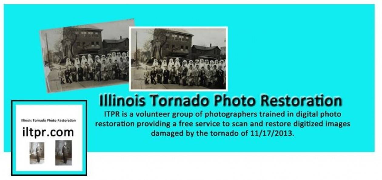 Illinois Tornado Photo Restoration